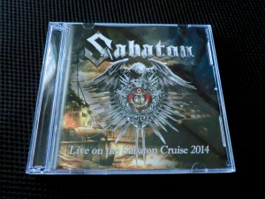 LIVE ON THE SABATON CRUISE 2014