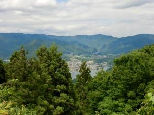 大明神展望台からの相模湖