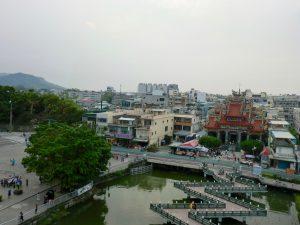 龍虎塔からの眺め
